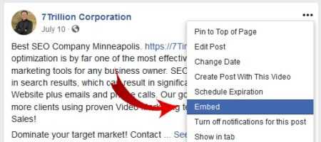 How to embed Facebook videos into WordPress - image 2